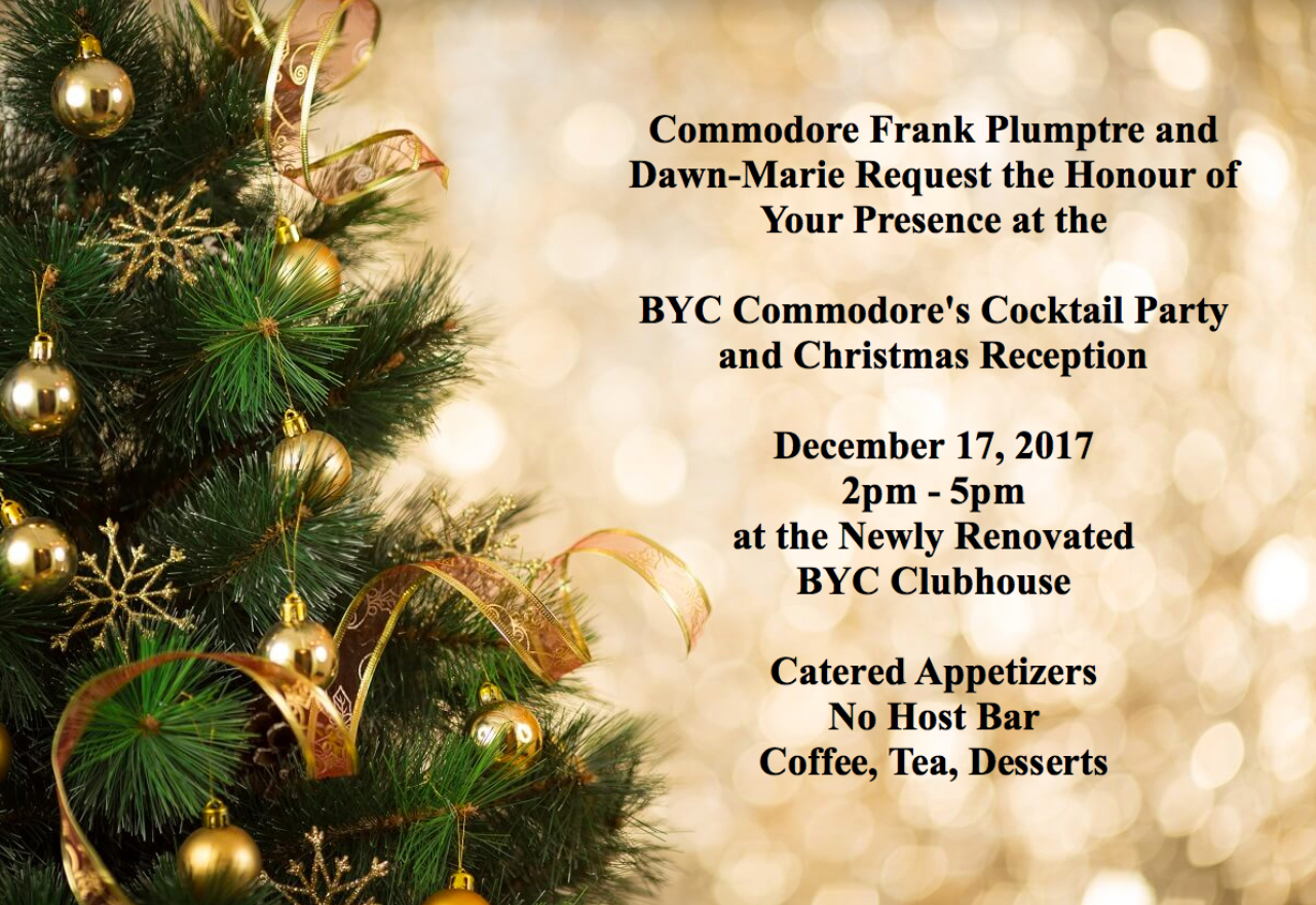 BYC Commodore's Cocktail Party 2017